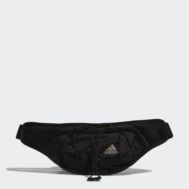 Löpning Svart Run Waist Bag