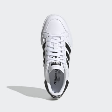 Kids Originals White Team Court Shoes