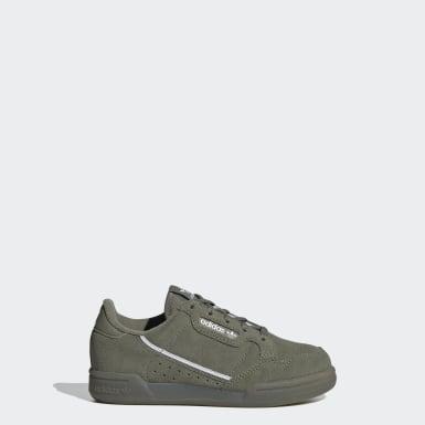Kinder Originals Continental 80 Schuh Grün