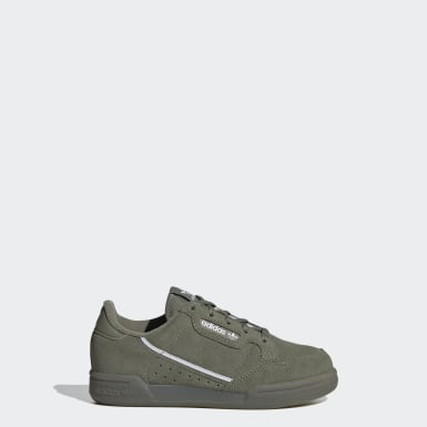 Kids Originals Green Continental 80 Shoes