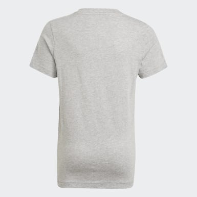 Boys Sport Inspired Grey Essentials Tee