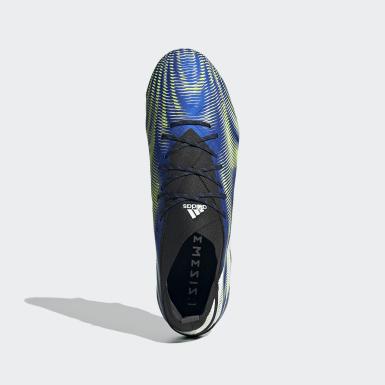 Fodbold Blå Nemeziz.1 Soft Ground støvler