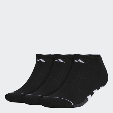 Men's Training Black Cushioned 2 No-Show Socks 3 Pairs