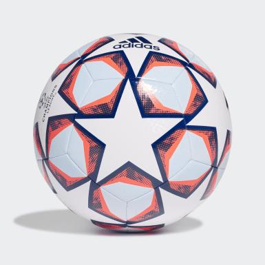 Fußball UCL Finale 20 Texture Trainingsball Weiß