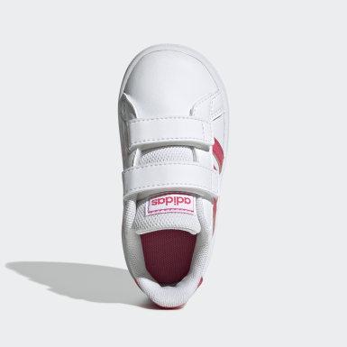 Chaussure Grand Court. blanc Bambins & Bebes Essentials