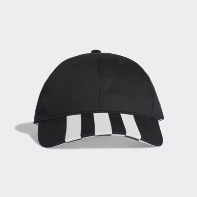 Training Siyah 3-Stripes Beyzbol Şapkası