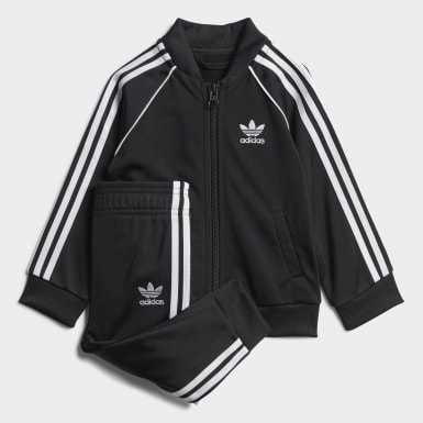 Kids Originals Black SST Tracksuit