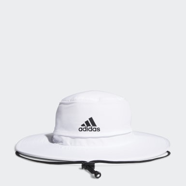 Men's Golf White UV Sun Hat