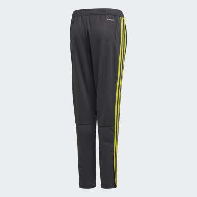 Boys Training Grey Tiro 19 Training Tracksuit Bottoms