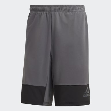 Shorts 4KRFT Tech 10-Inch Elevated Gris Hombre Training