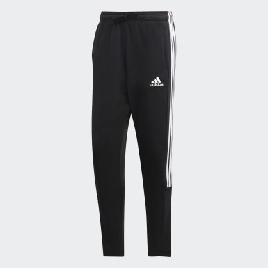 Men Athletics Black Must Haves 3-Stripes Tiro Joggers
