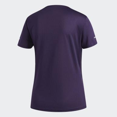 Camiseta Run Roxo Mulher Running