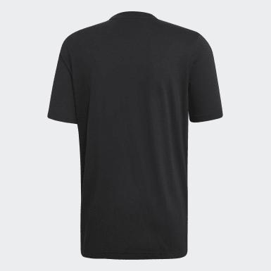 Men Originals Black Camouflage Trefoil T-Shirt
