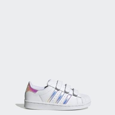 Çocuklar Originals Beyaz Superstar Ayakkabı