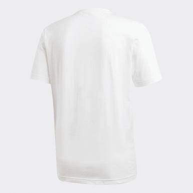Muži Athletics biela Tričko Essentials Plain