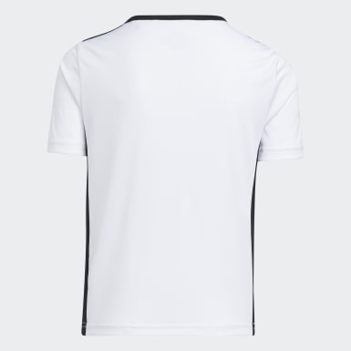 Camisa Entrada Branco Meninos Futebol