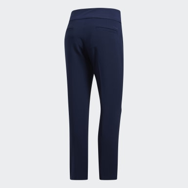 Women's Golf Blue Ultimate365 Adistar Cropped Pants