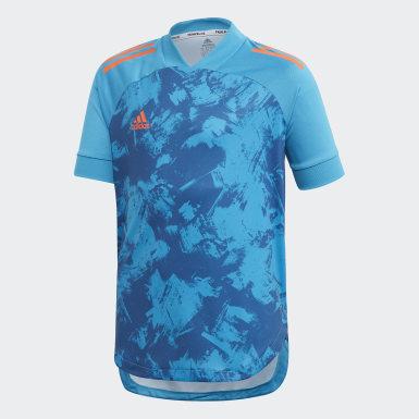 Børn Træning Blå Condivo 20 Primeblue trøje