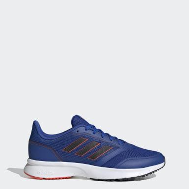 Men Running Blue Nova Flow Shoes