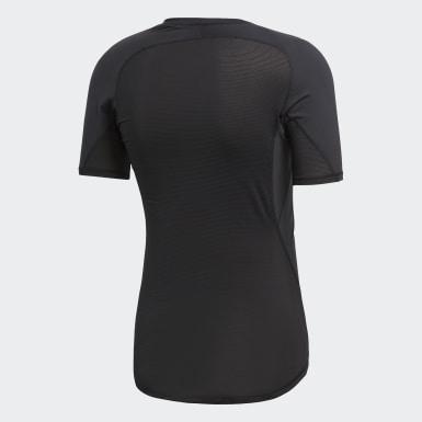 Camiseta Alphaskin Sport Preto Homem Rugby