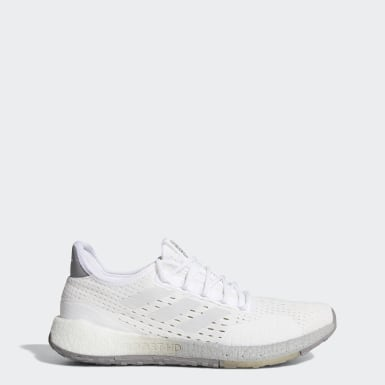 Men's Running White Pulseboost HD SUMMER.RDY Shoes