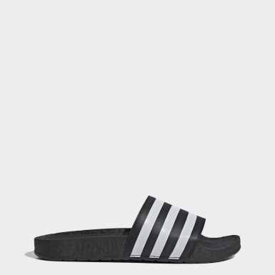 Men Originals Black Adilette Boost Slides