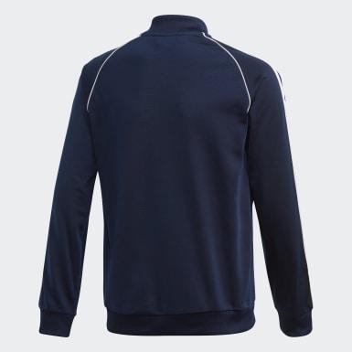 Kinder Originals SST Originals Jacke Blau
