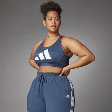 Women's Running Medium Support Don't Rest 3 Bar Bra (Plus Size)