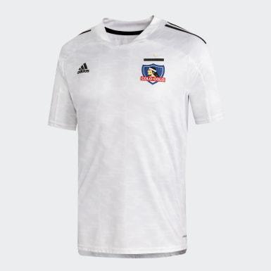 Camiseta Local Club Colo-Colo Blanco Niño Fútbol