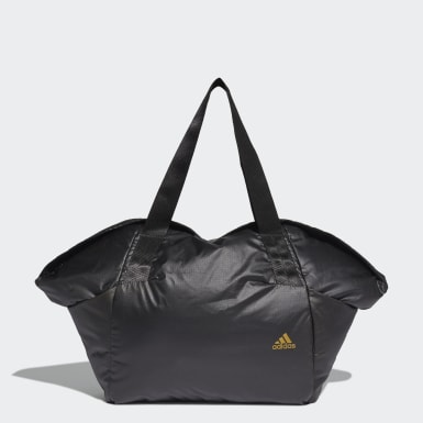 Women's Lifestyle Black Sports Ripstop Duffel Bag