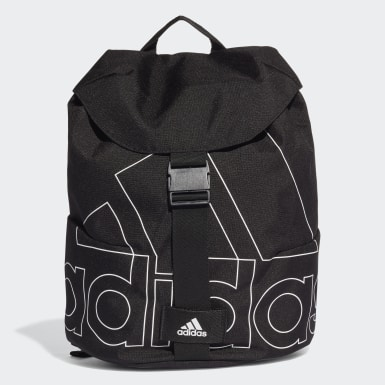 Women Training Black Flap Backpack