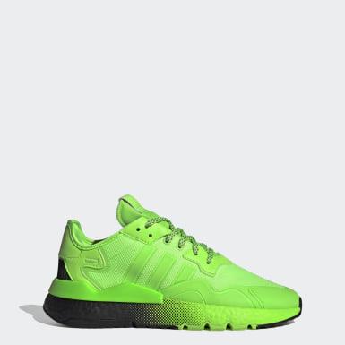 Zapatillas Nite Jogger Verde Hombre Originals