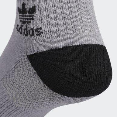 Men's Originals Grey Roller Quarter Socks 3 Pairs