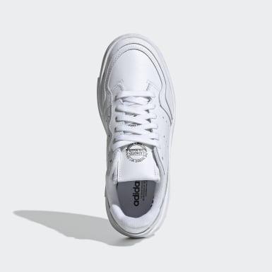 Genç Originals Beyaz Supercourt Ayakkabı