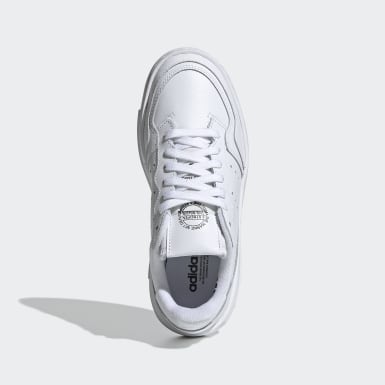 Tenis Supercourt (UNISEX) Blanco Niño Originals