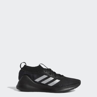 Kids Running Black Purebounce+ Shoes