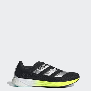 Men Running Black Adizero Pro Shoes