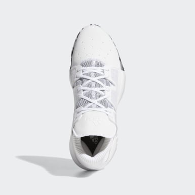 Men's Basketball White Pro Vision Shoes