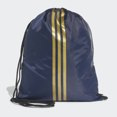 Fodbold Blå Real Madrid gymnastikpose