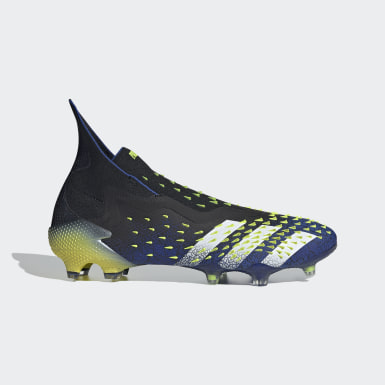 Men Football Black Predator Freak+ Firm Ground Boots