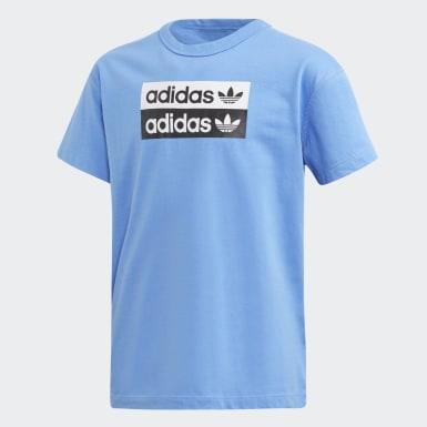 синий Футболка