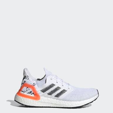 Men Running White Ultraboost 20 Shoes