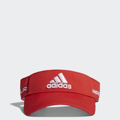 ผู้ชาย กอล์ฟ สีแดง หมวกไวเซอร์ Tour