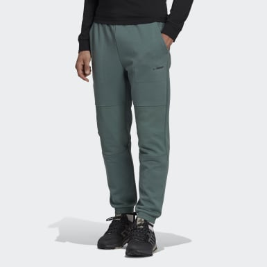 Men TERREX Green Terrex Explore Knit Tracksuit Bottoms
