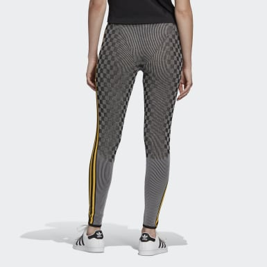 Women Originals Black Paolina Russo Reflective Leggings