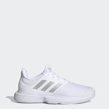 Women Tennis White GameCourt Tennis Shoes