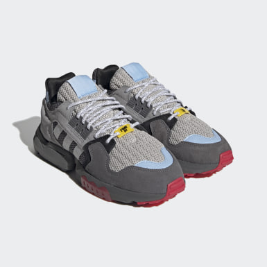 Men Originals Grey Ninja ZX Torsion Shoes