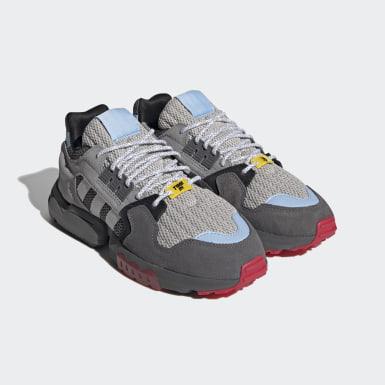 Sapatos ZX Torsion Ninja Cinzento Originals