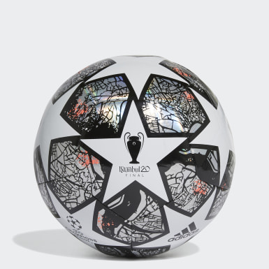 Men's Soccer White UCL Finale Istanbul Training Ball