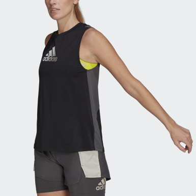 Women Training Black adidas Designed To Move AEROREADY Tank Top